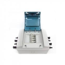 Caja Combinadora de 2 cadenas, Caja combinadora de 2 a 2 circuito, Caja de Combinación 2 String | caja de protecciones solares.