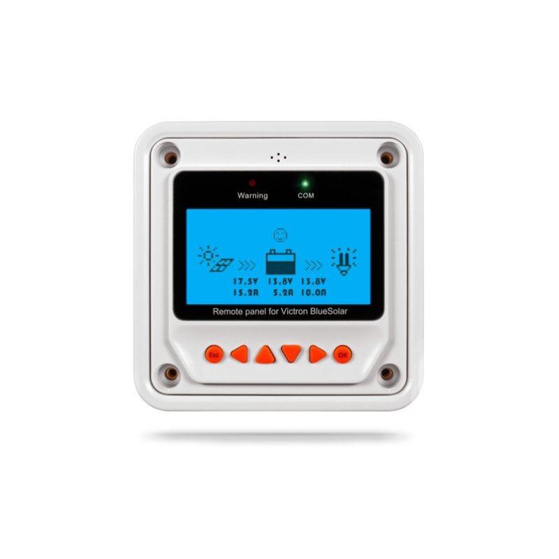 Pantalla para Controlador de carga / regulador de voltaje PWM, MT50 modelo MT-50