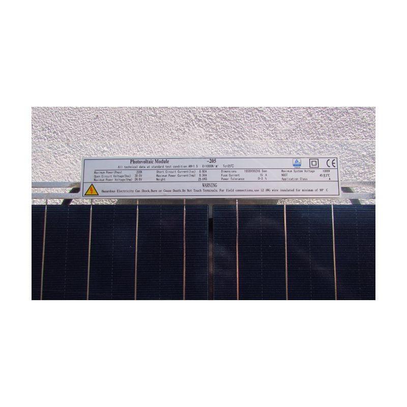 Panel Solar Doble Vidrio Policristalino Proveedor De