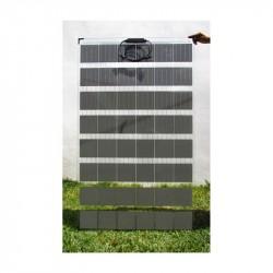 Modulo Solar Arquitectónico doble vidrio | Panel transparente sin marco o panel solar doble cara ideal para fachadas